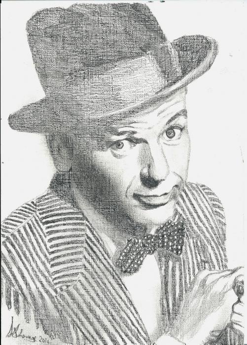 Frank Sinatra by Lindasart